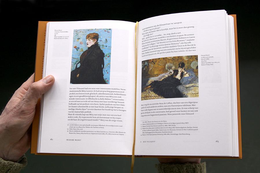 Hoofdstuk Rue Villejust, Madame Manet Ton van Kempen Nicoline van de Beek