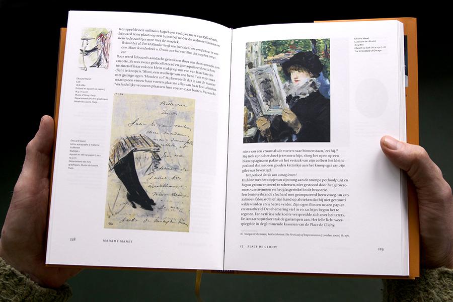 Édouard Manet, La lecture de l'Illustré